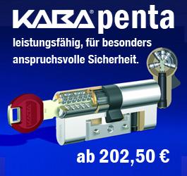 KABA gemini pluS - Wendeschlüssel-Zylinder