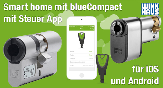 Smart home mit blueCompact